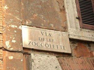 Via delle Zoccolette